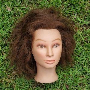 Makeup - Miss suziekin mannequin head real human hair